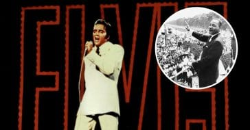This Elvis song was inspired by Dr Martin Luther King Jr
