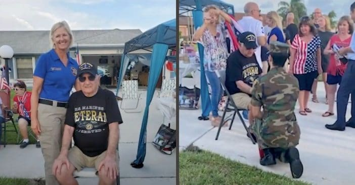 WWII Veteran Gets 'Ultimate Surprise' For His 93rd Birthday