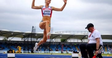 World Champion Olivia Breen