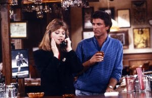 CHEERS, from left: Shelley Long, Ted Danson