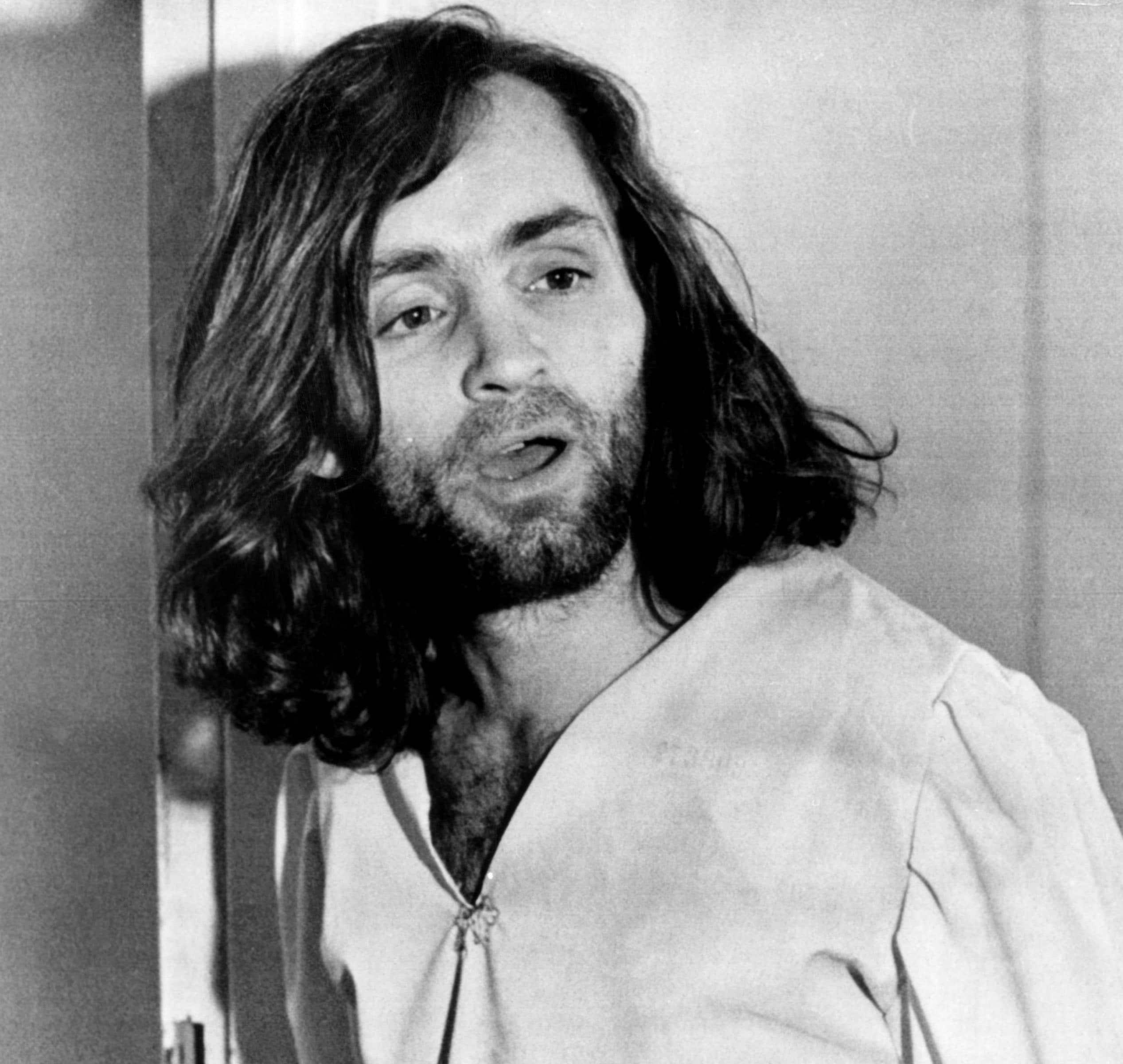 Charles Manson, cult leader, March 6, 1970