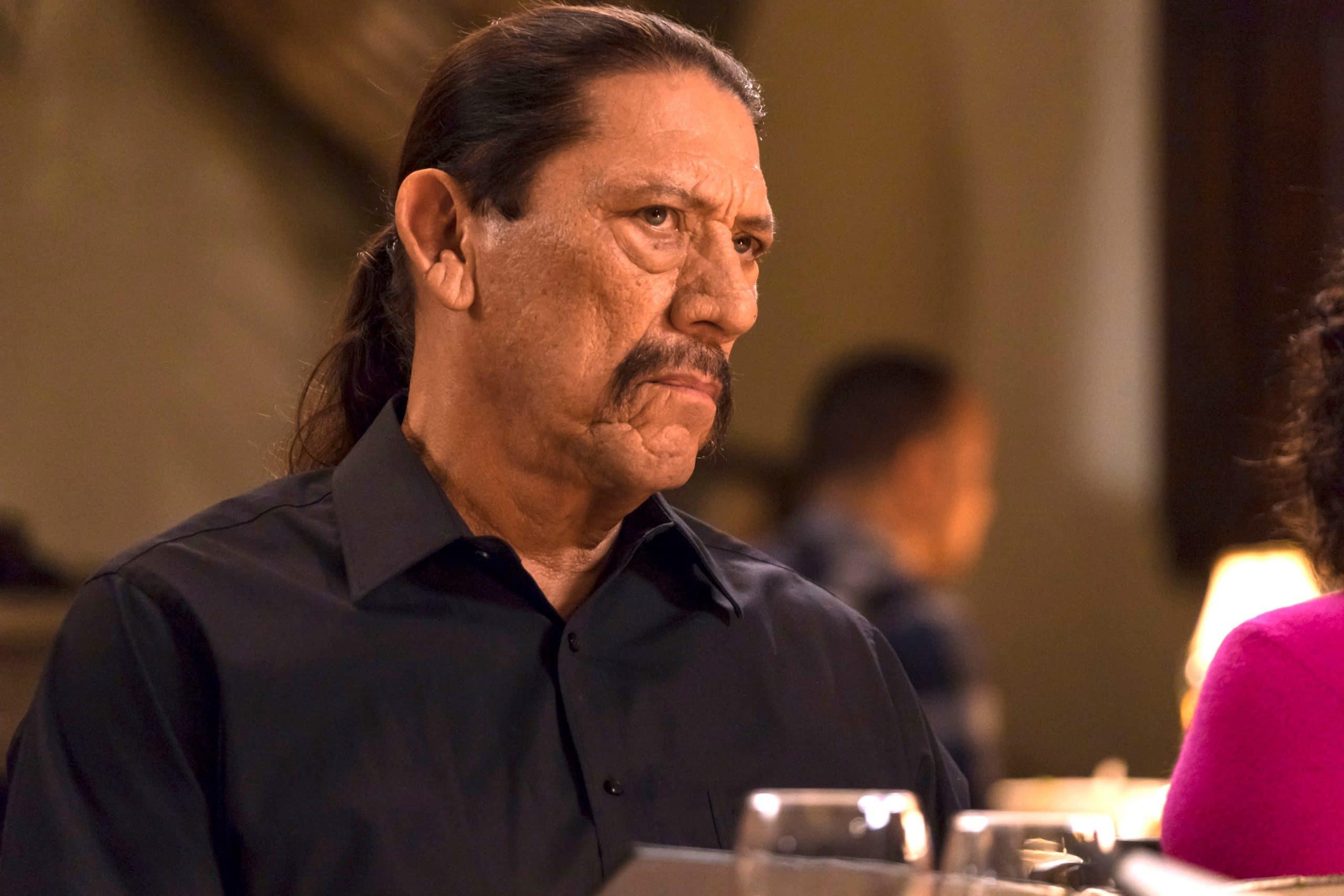 BROOKLYN NINE-NINE, Danny Trejo in 'Game Night - Godfather', (Season 5, Episode 510, aired December 12, 2017)