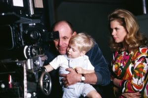 BEWITCHED, from left: director William Asher, Elizabeth Montgomery, William Asher jr