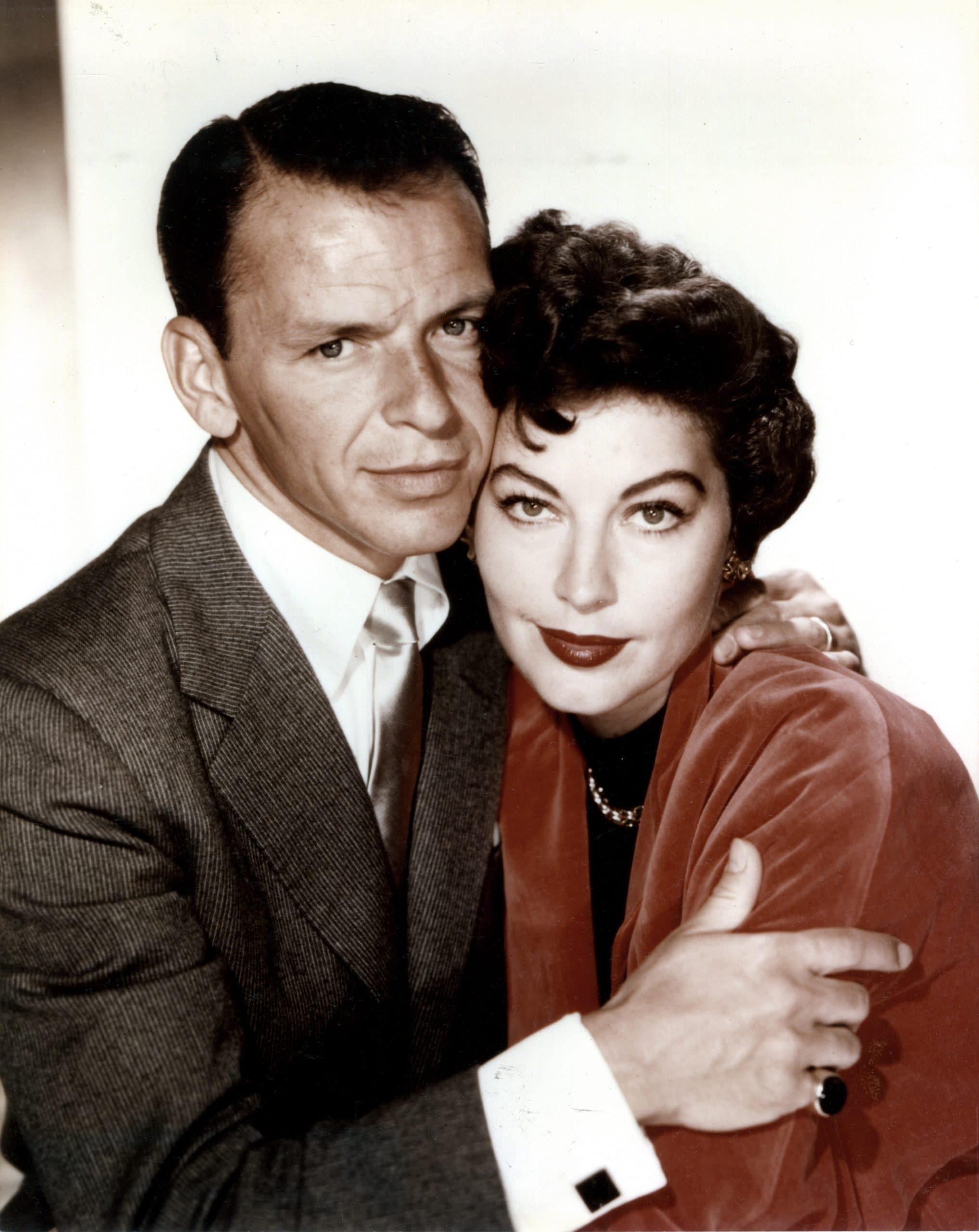 From left, Frank Sinatra, Ava Gardner