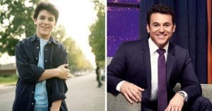 Fred Savage then and now