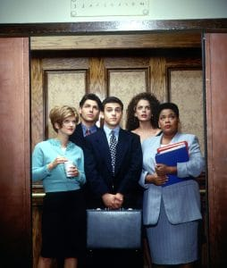WORKING, (l-r): Fred Savage
