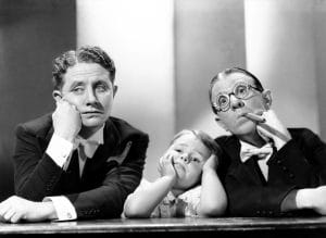 KENTUCKY KERNELS, from left: Bert Wheeler, George McFarland