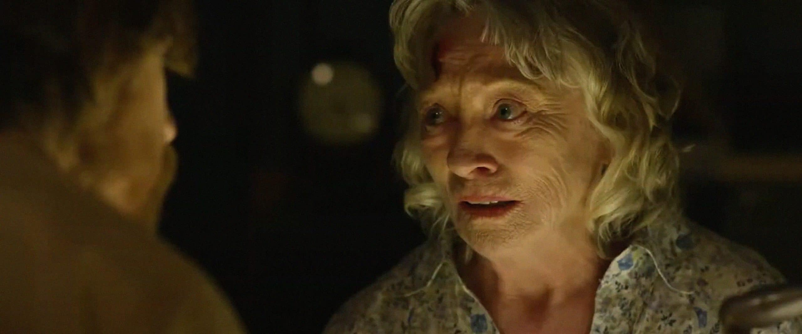 LIMBO, from left: Lew Temple (back to camera), Veronica Cartwright, 2019