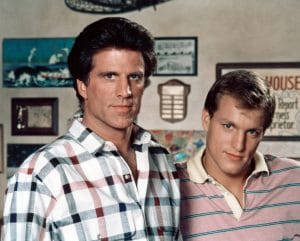 CHEERS, (from left): Ted Danson, Woody Harrelson