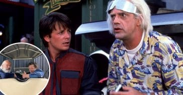 Back to the Future stars reunited
