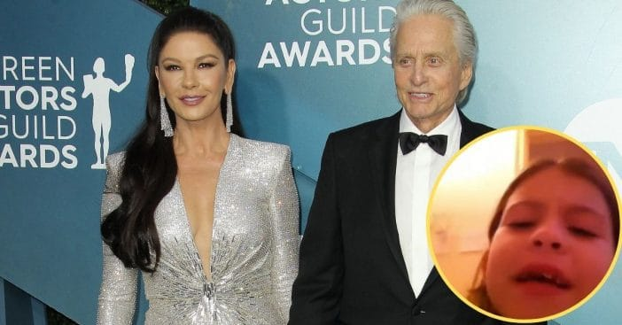 Catherine Zeta-Jones Shares Throwback Video Of Daughter Carys As She Packs For College