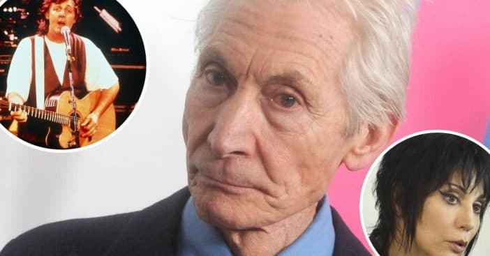 Celebrities pay tribute to Charlie Watts