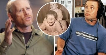 Clint and Ron Howard share throwback photo