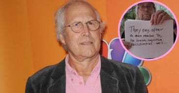 Comedian Chevy Chase