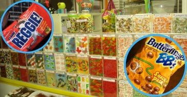 Discontinued vintage sweets