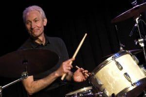 Drummer Charlie Watts