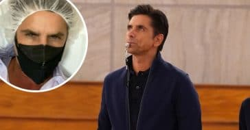 John Stamos recovering from surgery