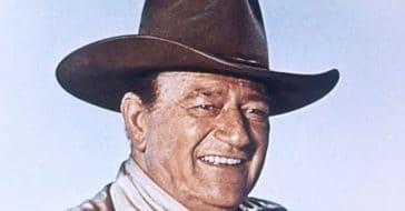 John Wayne said his best attribute was his sincerity