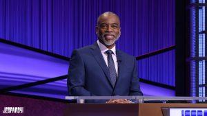 LeVar Burton hosting Jeopardy!