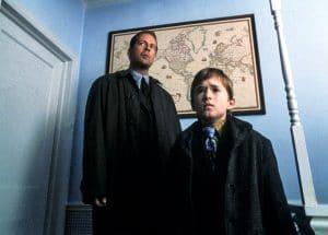 THE SIXTH SENSE, Bruce Willis, Haley Joel Osment