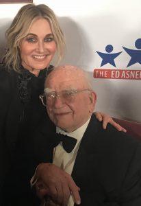 Maureen McCormick and Ed Asner