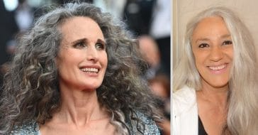 More and more people are embracing their silver strands