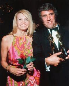 Angie Dickinson and husband Burt Bacharach