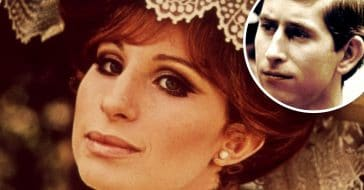 Prince Charles sent Barbra Streisand flowers