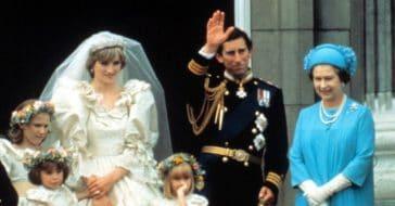 Princess Diana, Prince Charles, Queen Elizabeth