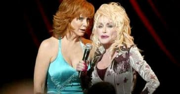 Reba McEntire and Dolly Parton