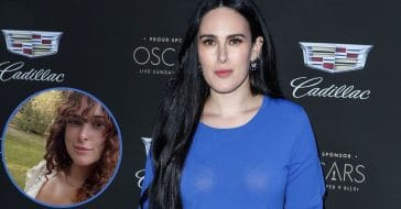 Rumer Willis Stuns In All-Natural Selfie In Bold White Top