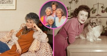 See photos of 'The Golden Girls' before the show