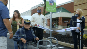 Stop & Shop unveiled Benny's Spot in honor of Benny Ficeto