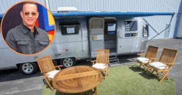 Tom Hanks Auctioning Off Custom Airstream Trailer That He Brought To 'Forrest Gump' Set