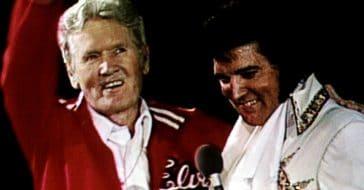Vernon and Elvis Presley