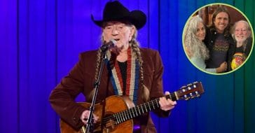Willie Nelson Shares Sweet Family Photo With Wife Annie And Son Lukas