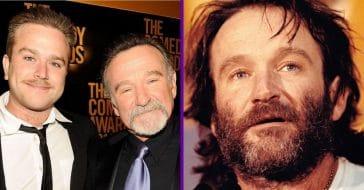 Zak and Robin Williams