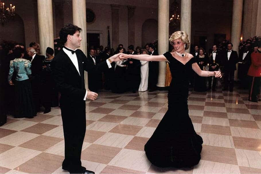 John Travolta, Princess Diana