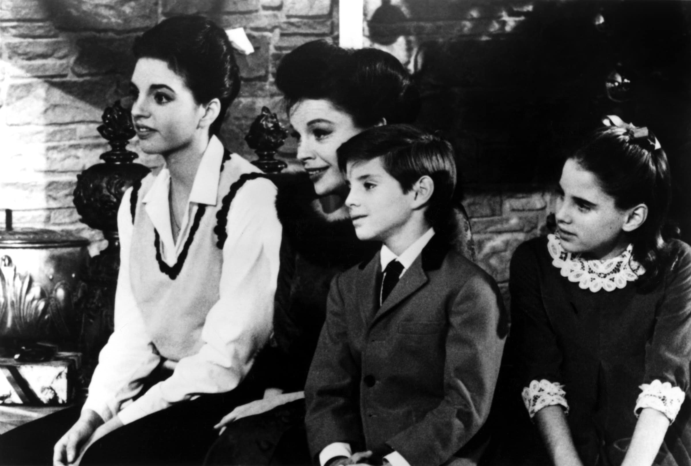 JUDY GARLAND SHOW, 1963-64, Liza Minnelli, Judy Garland, Joey Luft, Lorna Luft, 1963