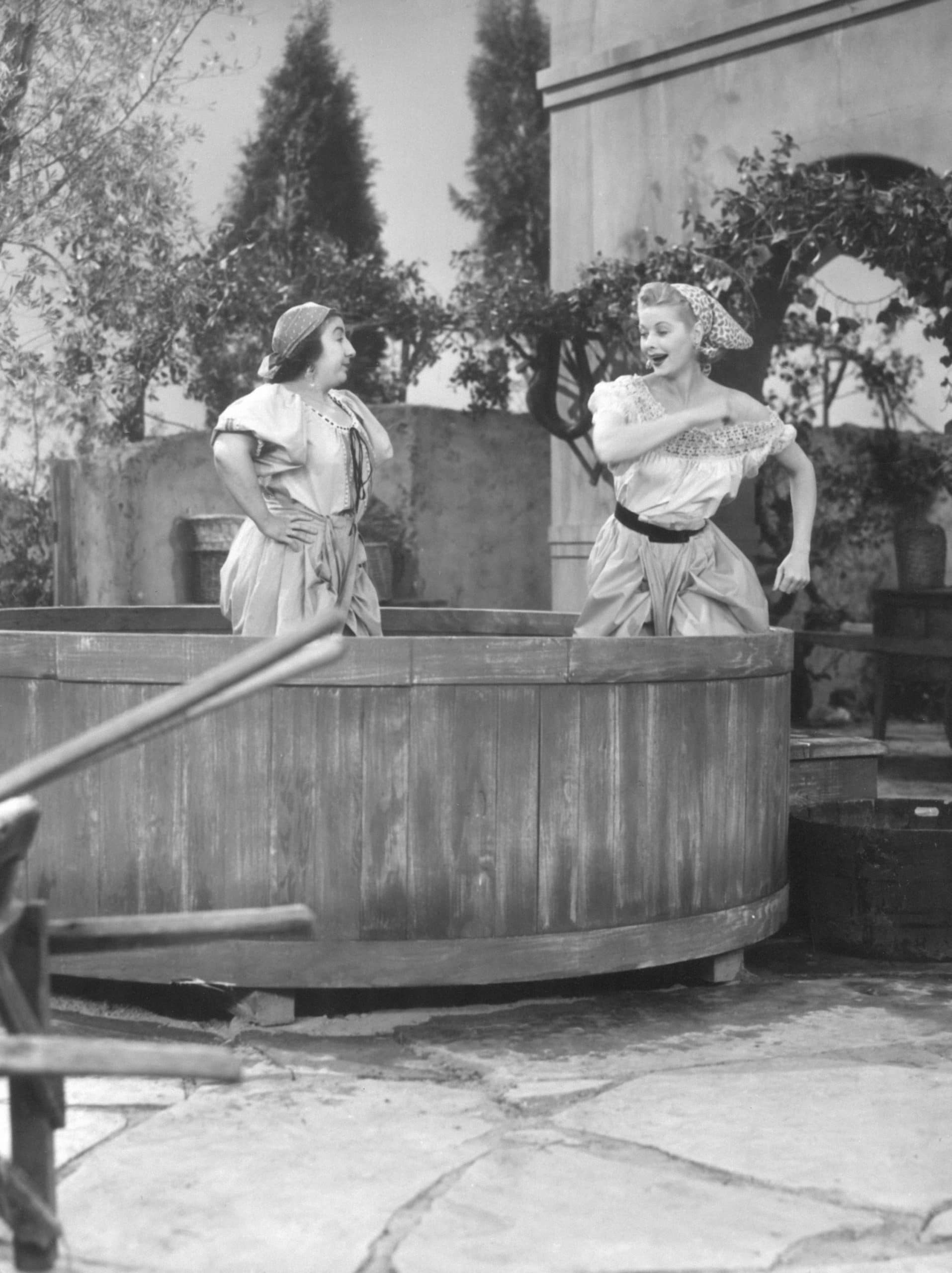 i love lucy in lucy's italian movie