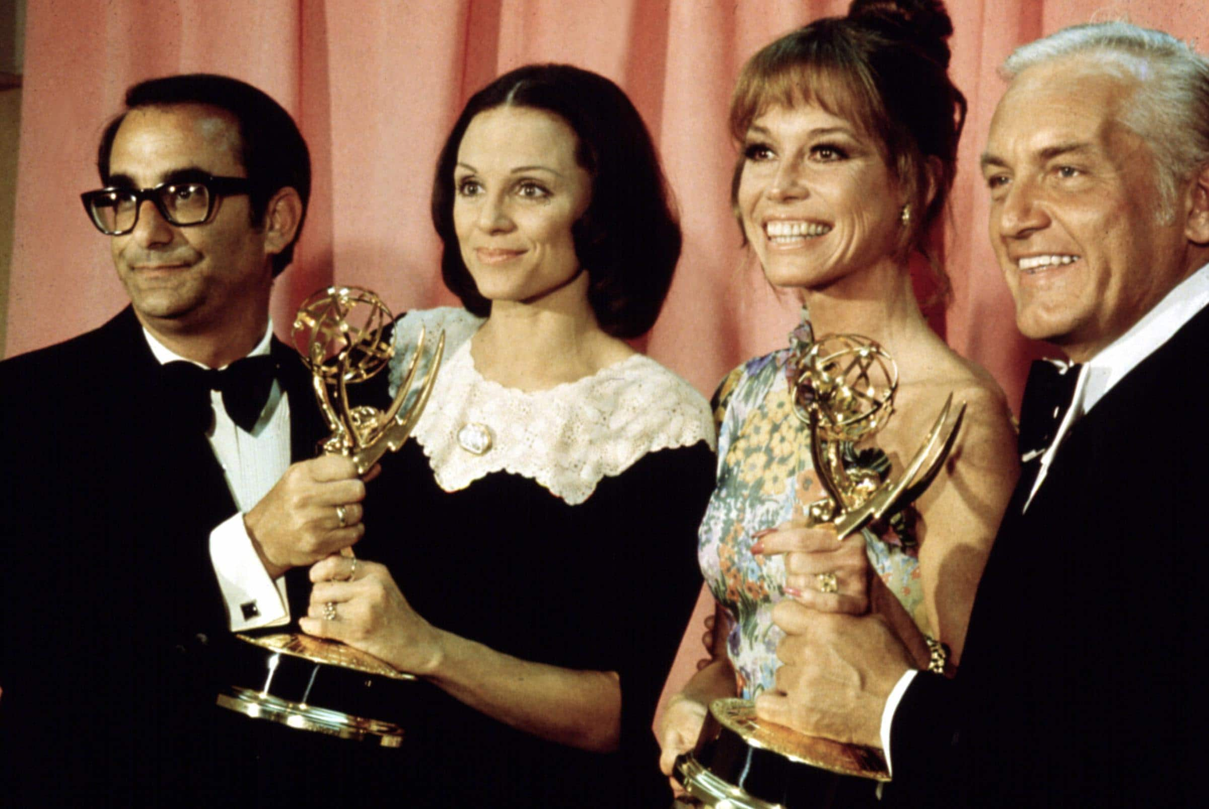 VALERIE HARPER, MARY TYLER MOORE and TED KNIGHT