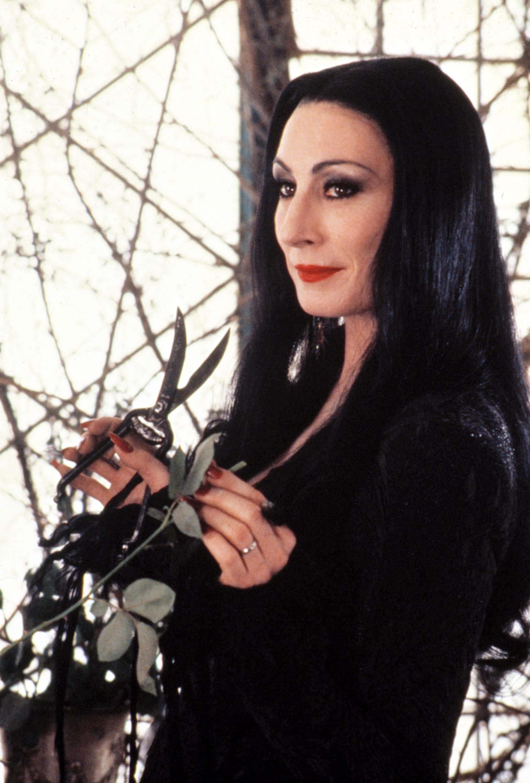 THE ADDAMS FAMILY, Anjelica Huston, 1991 morticia addams