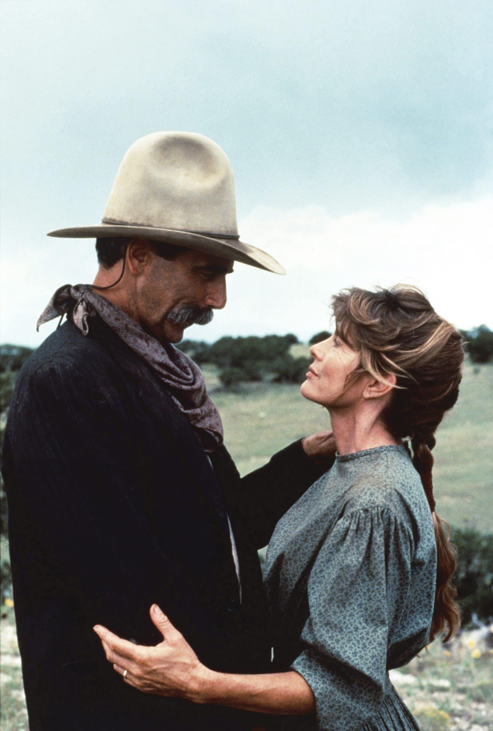 CONAGHER, from left: Sam Elliott, Katharine Ross, 1991