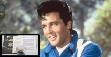 A 'Hunka Hunk' Of Elvis Presley's Hair Sells At Auction For Whopping $72K