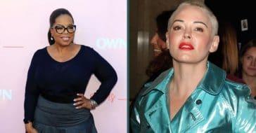 Actress Rose McGowan Has Some Harsh Words For Oprah Winfrey