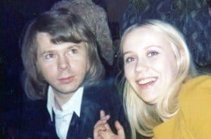 Björn Ulvaeus and Agnetha Fältskog for Jesus Christ Superstar