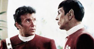 Captain Kirk and Mister Spock