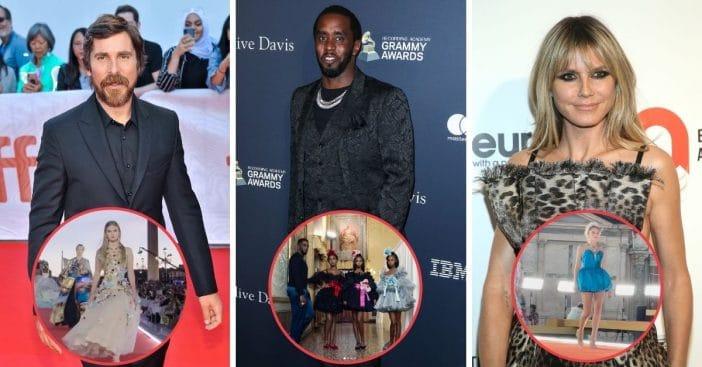Celeb Kids Of Heidi Klum, Diddy, Christian Bale Stun At Dolce & Gabanna Show
