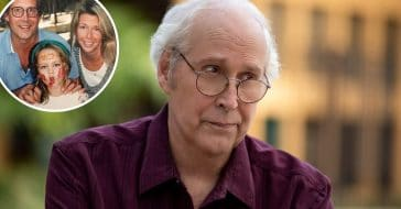 Chevy Chase shares adorable throwback photo for his daughters birthday