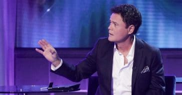 Donny Osmond talks recovery after almost becoming paralyzed